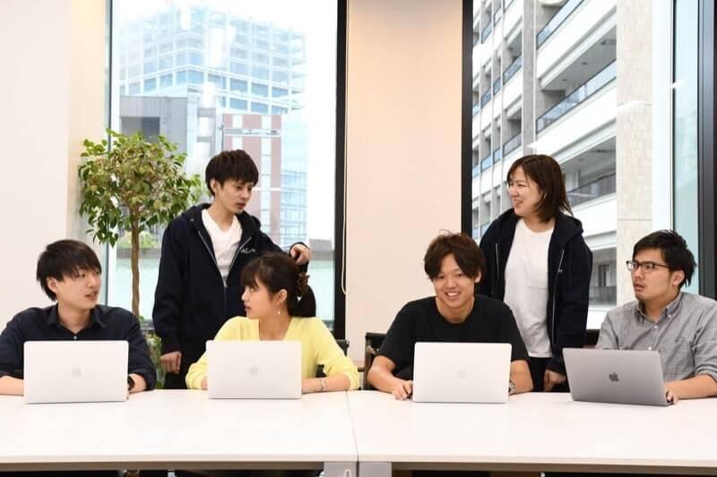 DMM WEBCAMPの受講生たち
