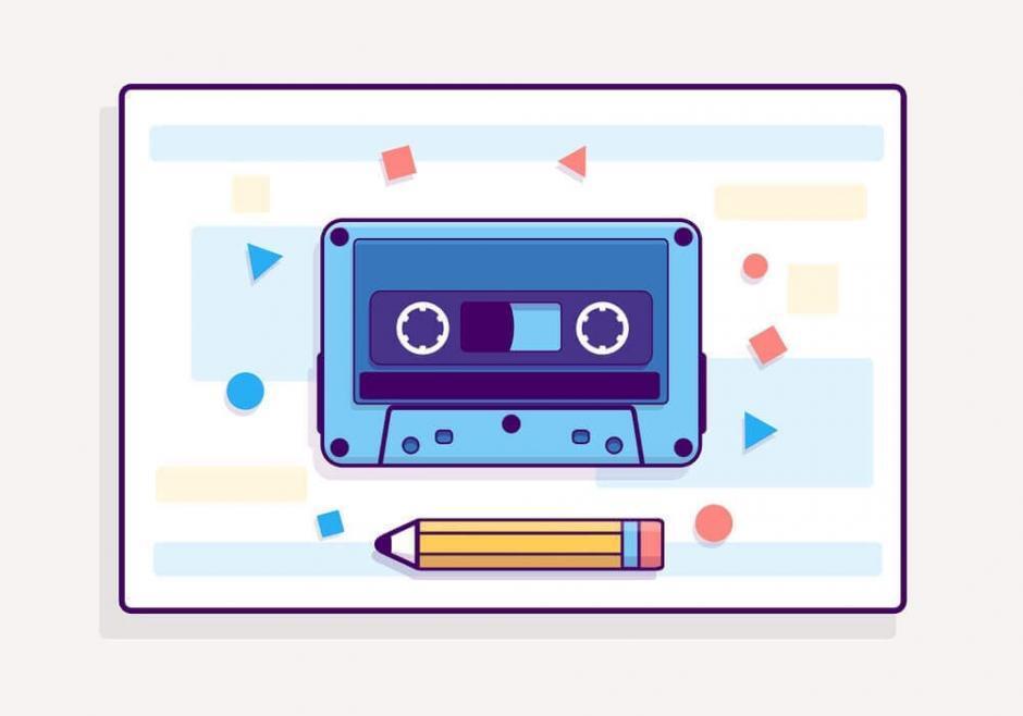 紙とペンとテープレコーダー